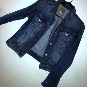 NWOT American Eagle denim jean jacket size small